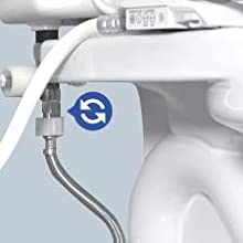 Washlet Bidet Seat Installation Overview Step 4