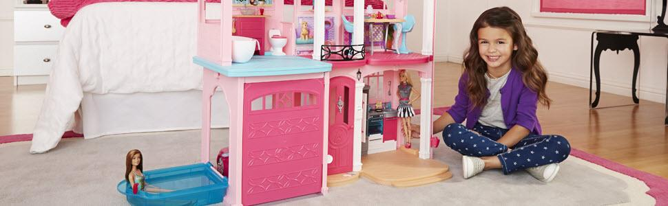 Barbie dreamhouse toys games How to make your dream house