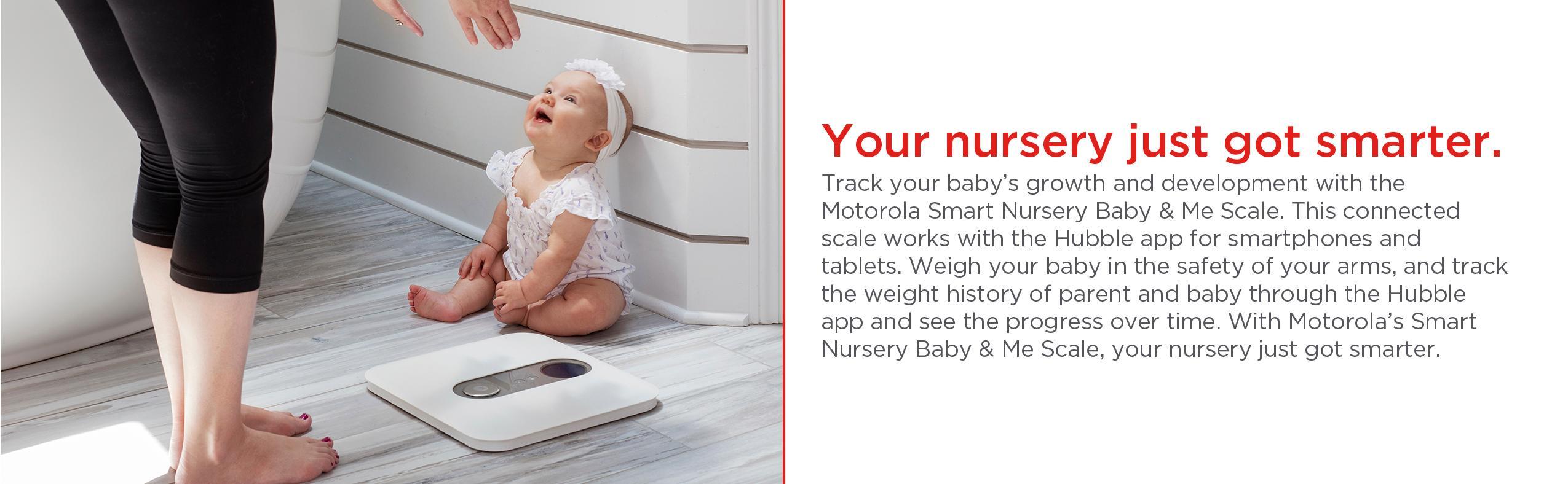 Amazon Com Motorola Smart Nursery Baby Amp Me Scale