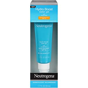 NEUTROGENA Hydro Boost Water Gel with sunscreen Broad Spectrum SPF 15