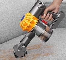 Amazon Com Dyson V6 Top Dog Handheld Vacuum Cordless
