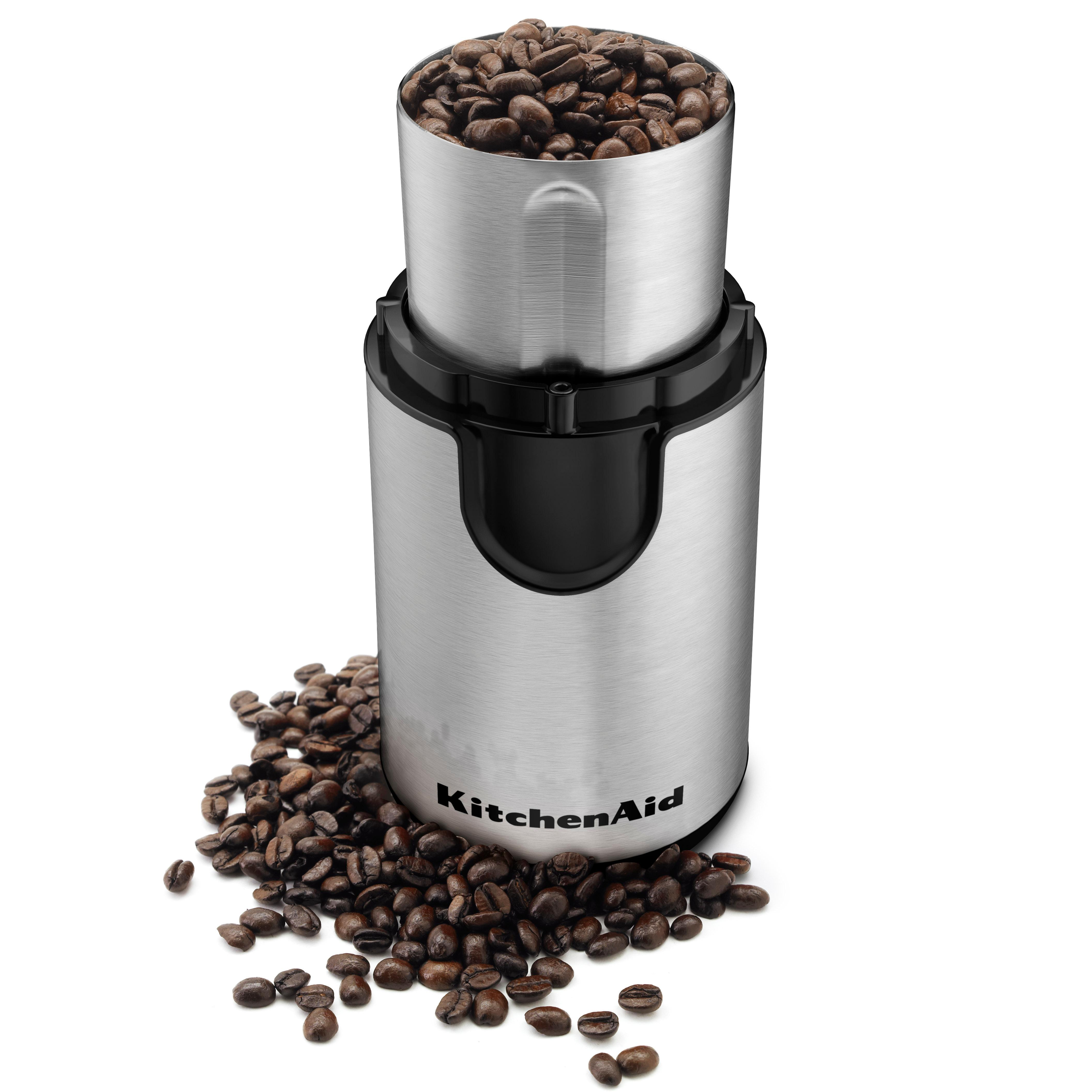 Amazon.com: KitchenAid BCG211OB Blade Coffee and Spice Grinder Combo Pack - Onyx Black: Coffee ...
