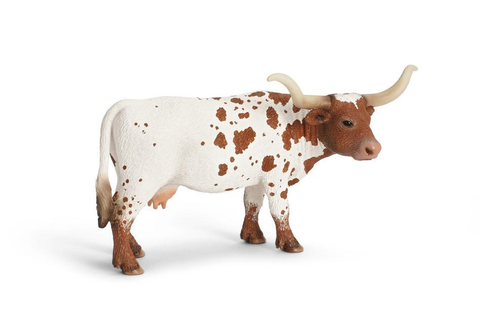 Small Toy Cows : Amazon schleich texas longhorn cow toy figure