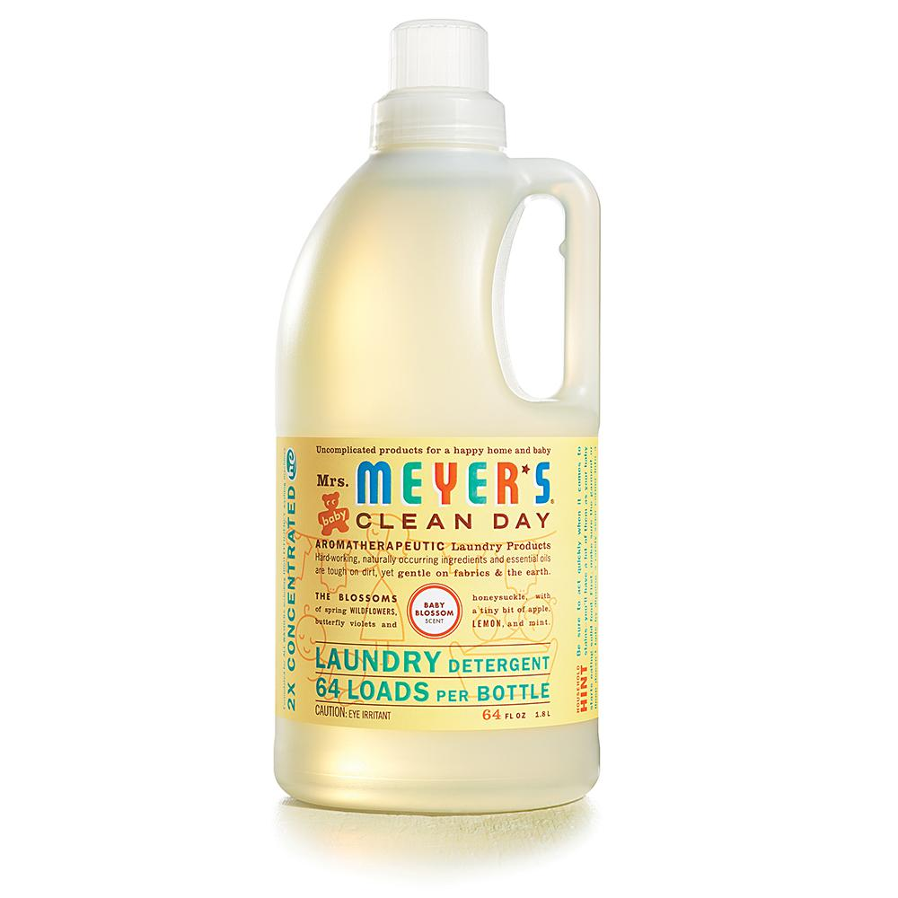 Amazon.com: Mrs. Meyer's Clean Day Laundry Detergent ...