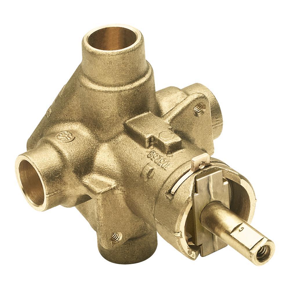 Moen Commercial PosiTemp Pressure Balancing Shower Valve, 1/2 Inch CC