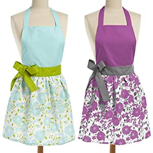 Aprons; Cotton Aprons; Kitchen Apron; Motheru0027s Day Gift; Kitchen; Uniform;