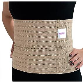 posture waist lumbar band splint breast postpartum girdle abdomen brace