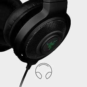 Amazon Com Razer Kraken Pro Analog Gaming Headset For Pc