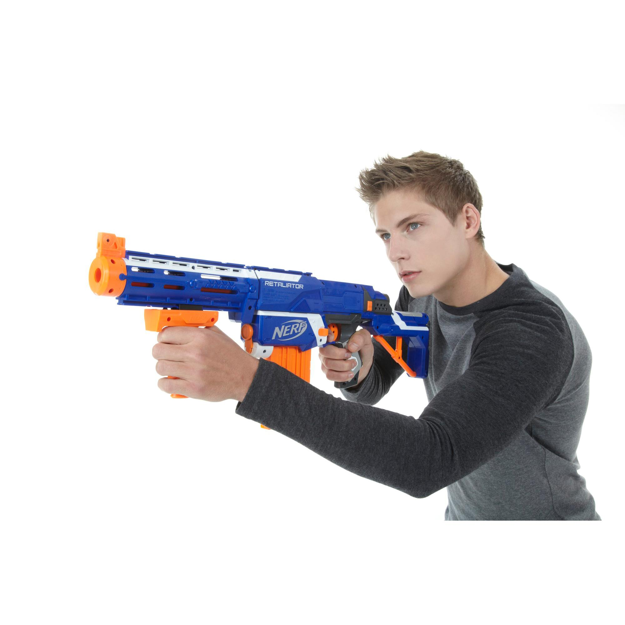 Amazon.com: Nerf N-Strike Elite Retaliator Blaster (Colors ...