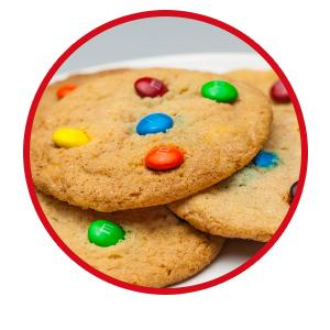 Make M&M'S Candies a part of baking recipes to make fun chocolate treats.