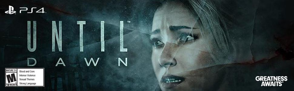 Until Dawn, PlayStation, PS4, Horror, Heavy Rain, Beyond
