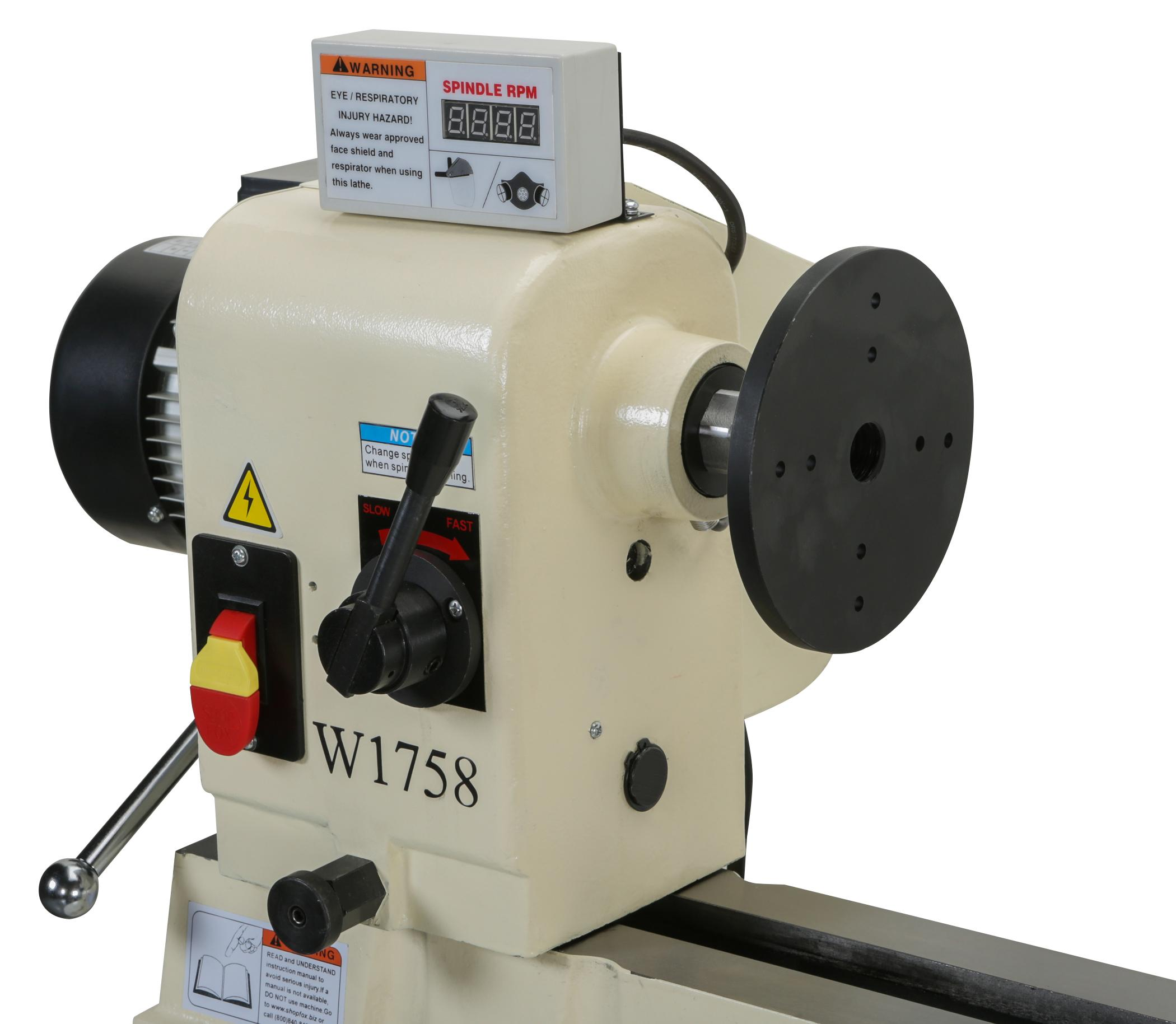 how to use a digital readout lathe