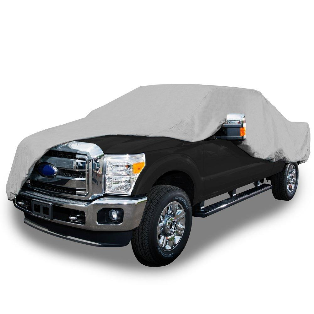 Budge Lite Truck Cover Fits Short Bed Standard Cab Pickups up to 208 inches, TB-3 - /(Polypropylene, Gray/) Budge Industries