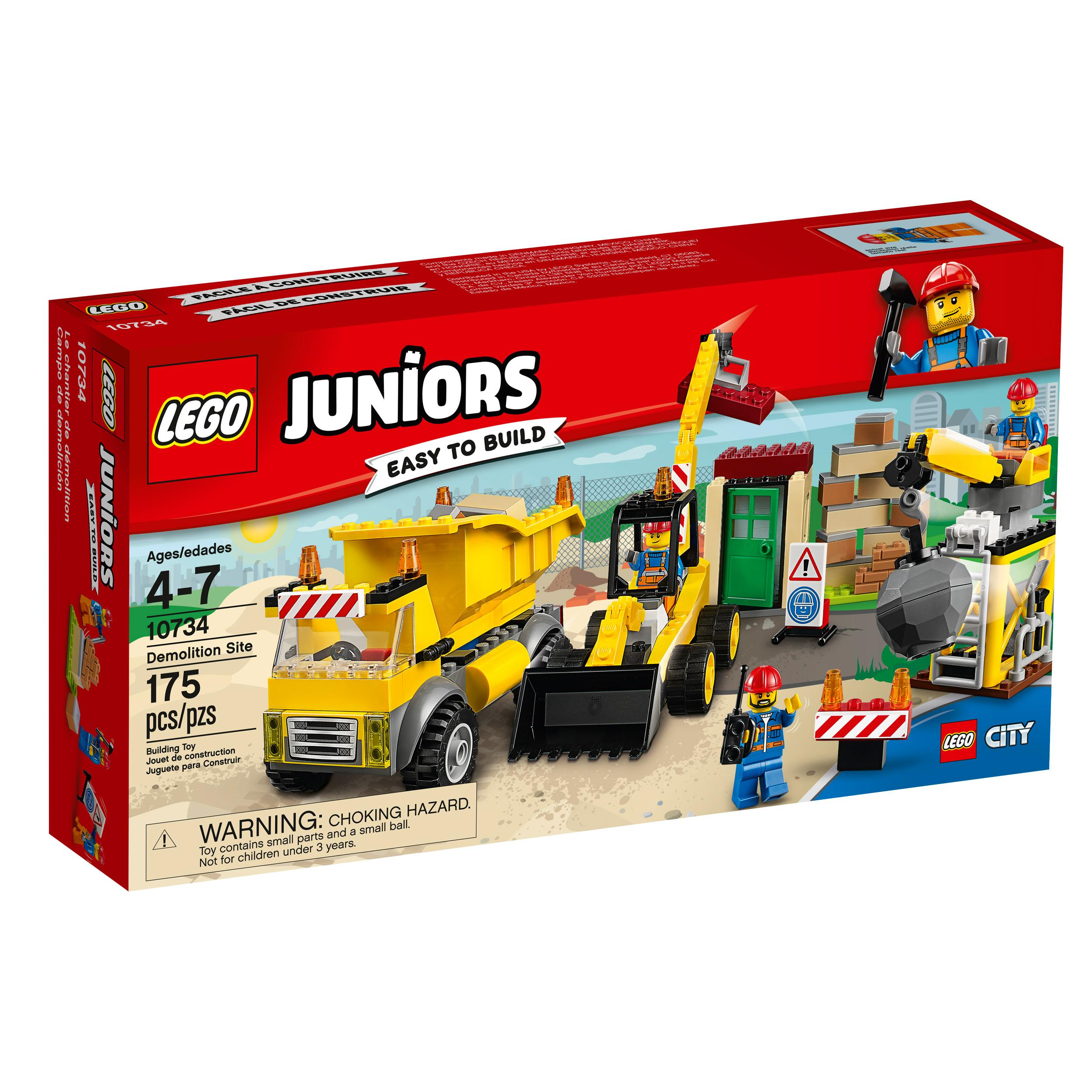 Construction Site Toys For Boys : Amazon lego juniors demolition site toy for