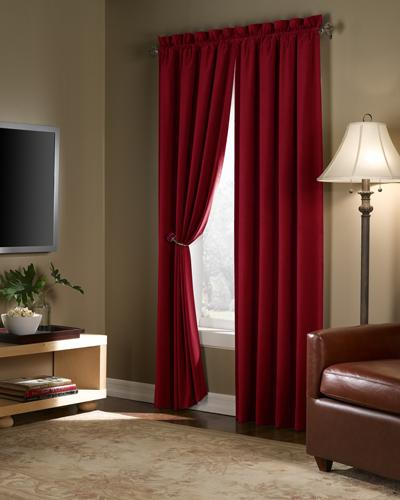 Red Curtains amazon red curtains : Amazon.com: Maytex Velvet Blackout Panel, Red, 40 in. X 84 in ...