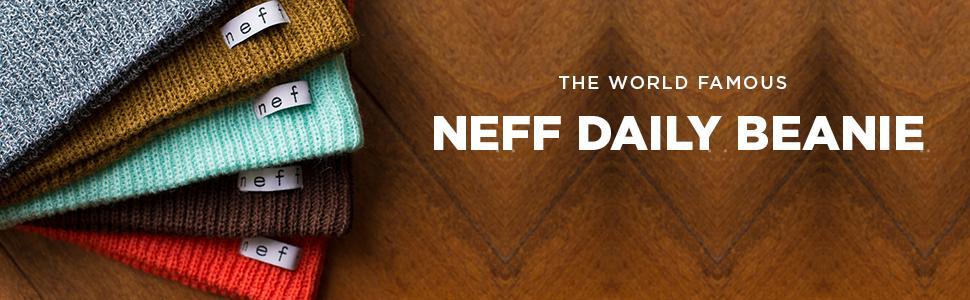 neff, daily, beanie, slouchy, snow, knitted, acrylic, soft, skate, surf