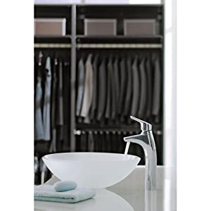 Moen Bathroom Faucet - Aerated Stream for Everyday Cleaning