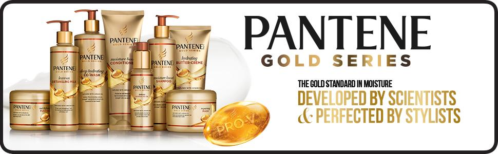 Image result for pantene pro v gold series logo