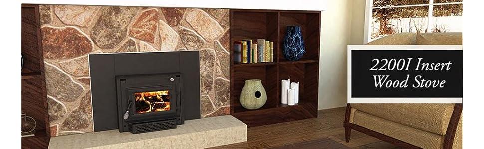 Amazon Com Us Stove 2200i Epa Certified Wood Burning