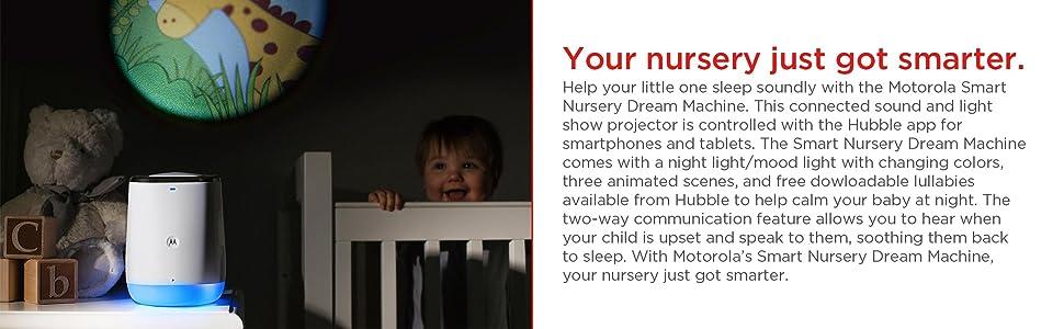 Amazon Com Motorola Smart Nursery Dream Machine