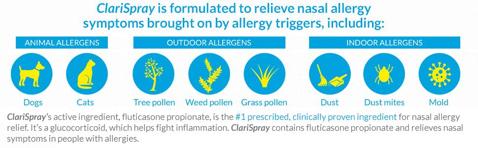 does fluticasone nasal spray have steroids