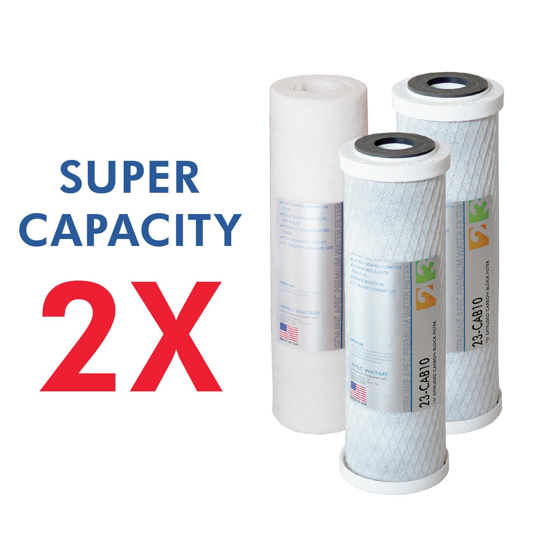 Apec Top Tier Supreme Certified High Flow 90 Gpd Ultra