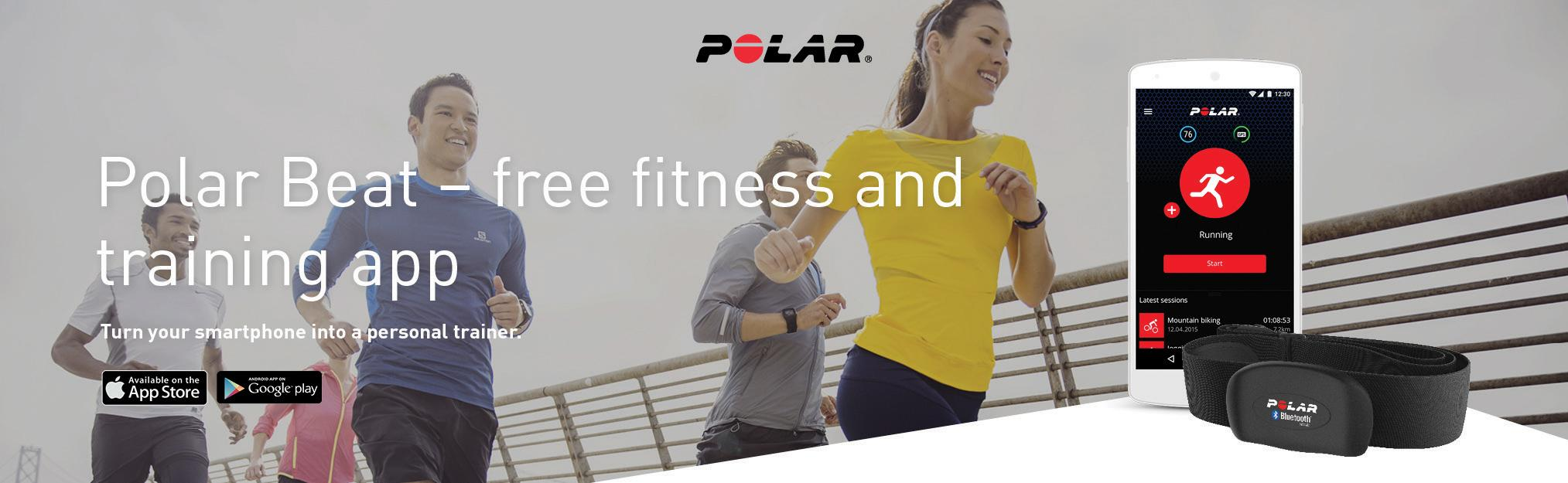 92044305-P Outdoor Recreation Polar H7 Bluetooth Heart Rate Sensor & Fitness Tracker Polar Electro Inc
