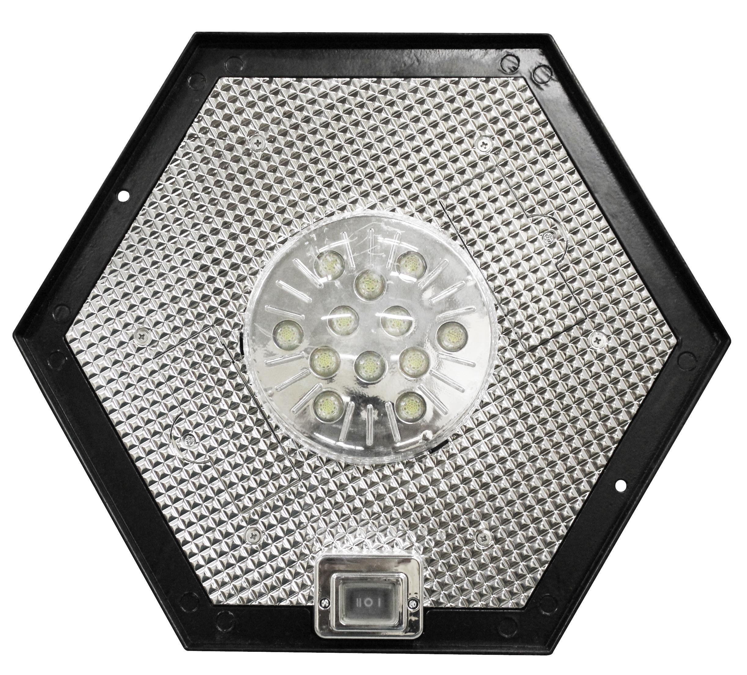 Gama Sonic Windsor Solar Outdoor LED Light Fixture, 3-Inch Fitter for
