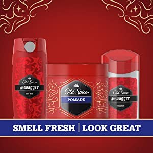 Old Spice 2-in-1, body wash, deodorant
