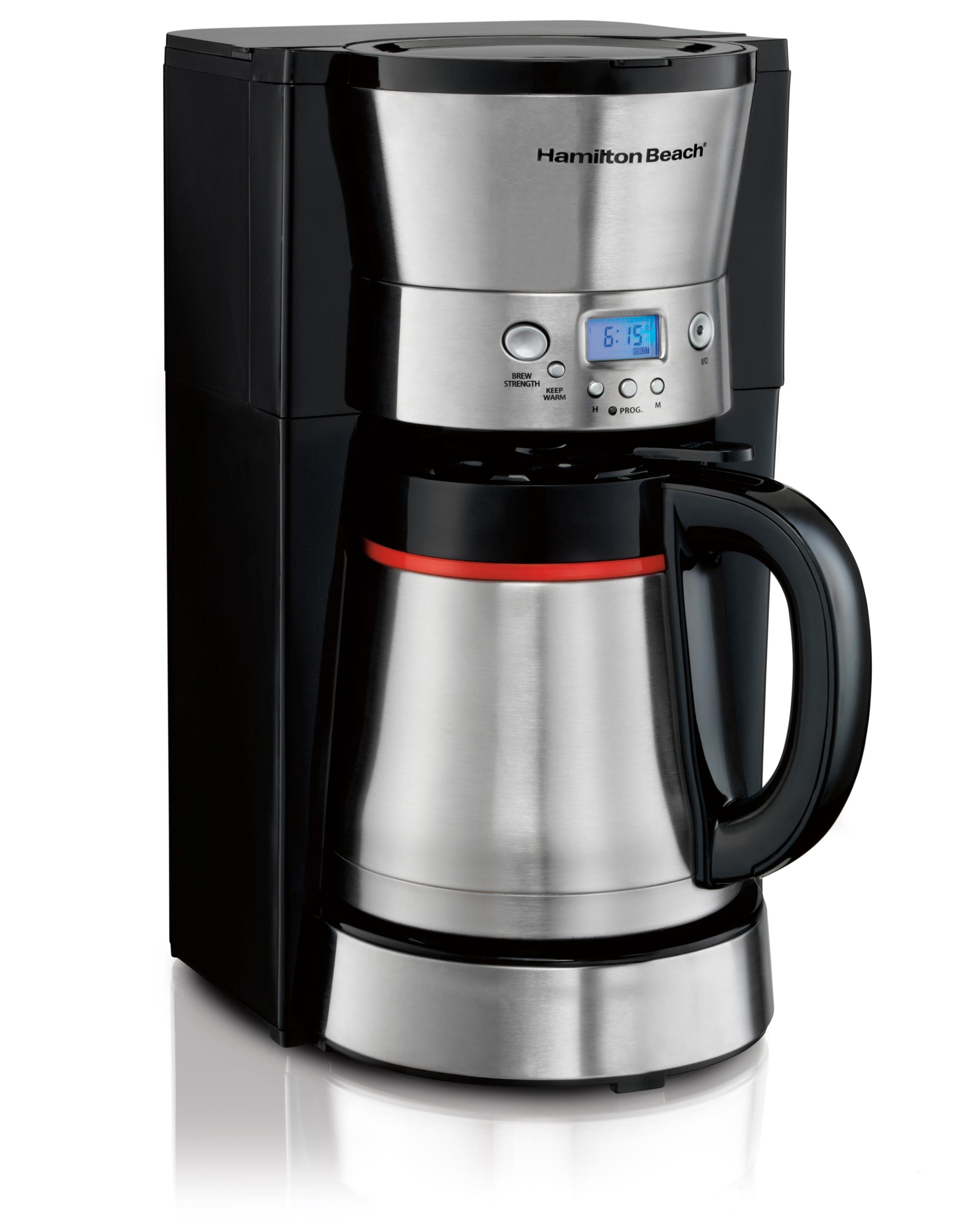 Amazon.com: Hamilton Beach 46896A 10 Cup Coffee Maker with ...