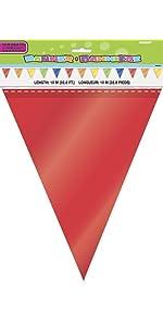 32ft Rainbow Flag Banner