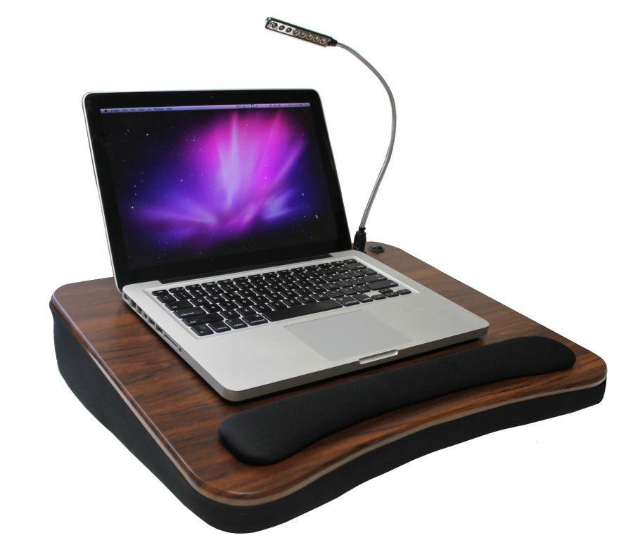 amazon com sofia sam memory foam lap desk with usb light 5035 rh amazon com sofia and sam lap desk with light sofia and sam lap desk australia