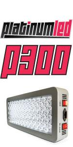 led grow light, PlatinumLED, P300, DS200, Advanced Diamond Series, Apollo, Mars Hydro, Top LED