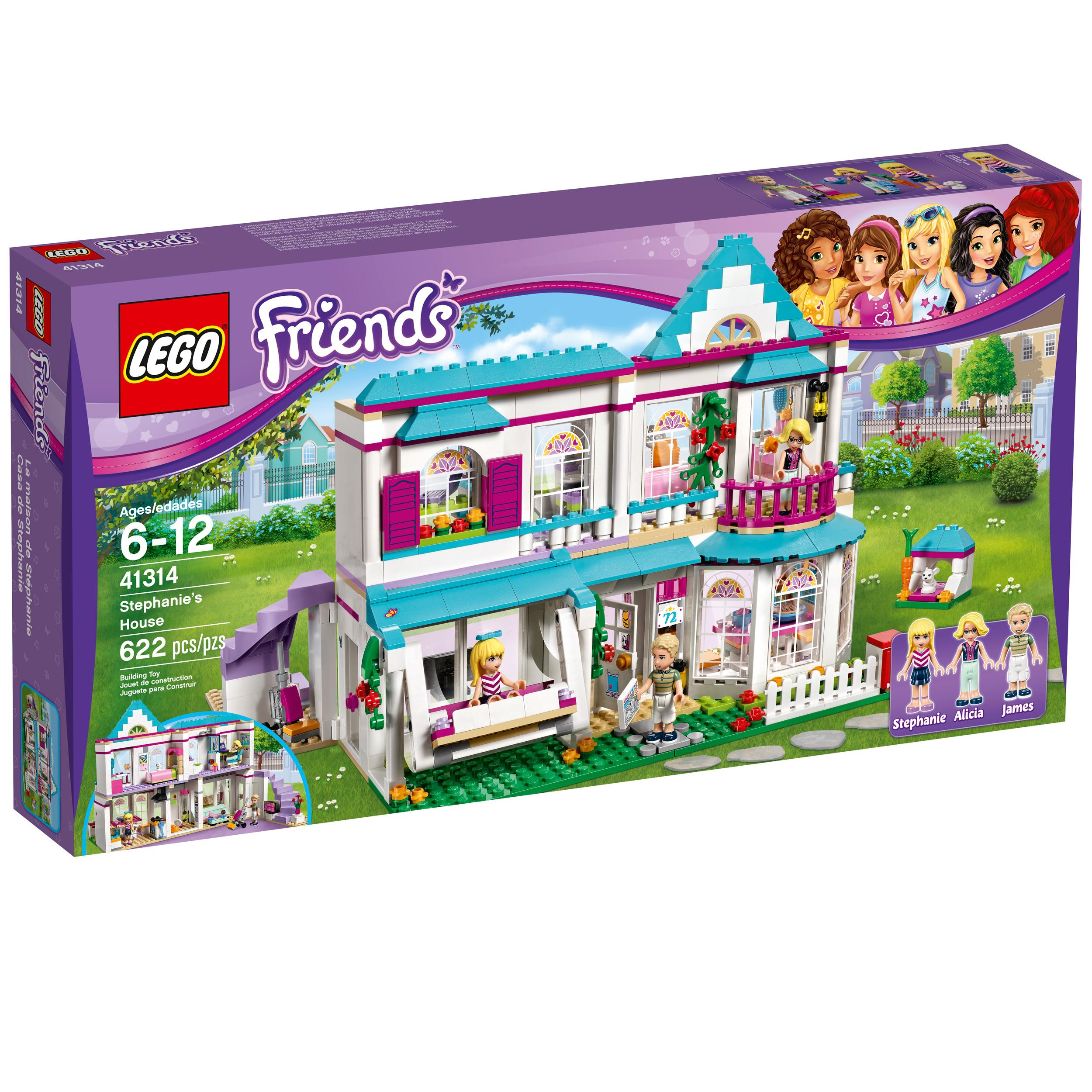 Toys For 6 12 Years : Amazon lego friends stephanie s house toy for