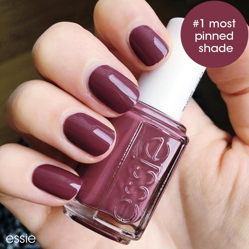 Amazon.com : essie nail polish, angora cardi, deep rose purple nail ...