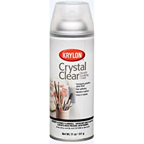 ounce crystal clear acrylic coating aerosol spray home improvement. Black Bedroom Furniture Sets. Home Design Ideas
