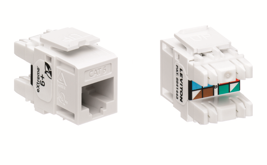 Amazon.com: Leviton 61110-RW6 eXtreme 6+ QuickPort Connector, CAT ...