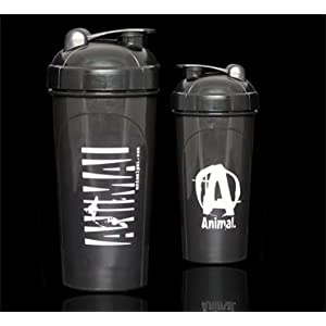Universal Nutrition Animal Shaker Cup Black