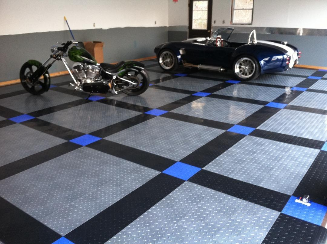 Amazon Com Speedway Garage Tile Interlocking Garage