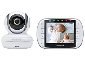 Motorola MBP36S Remote Wireless Video Baby Monitor with 3.5-Inch Color..