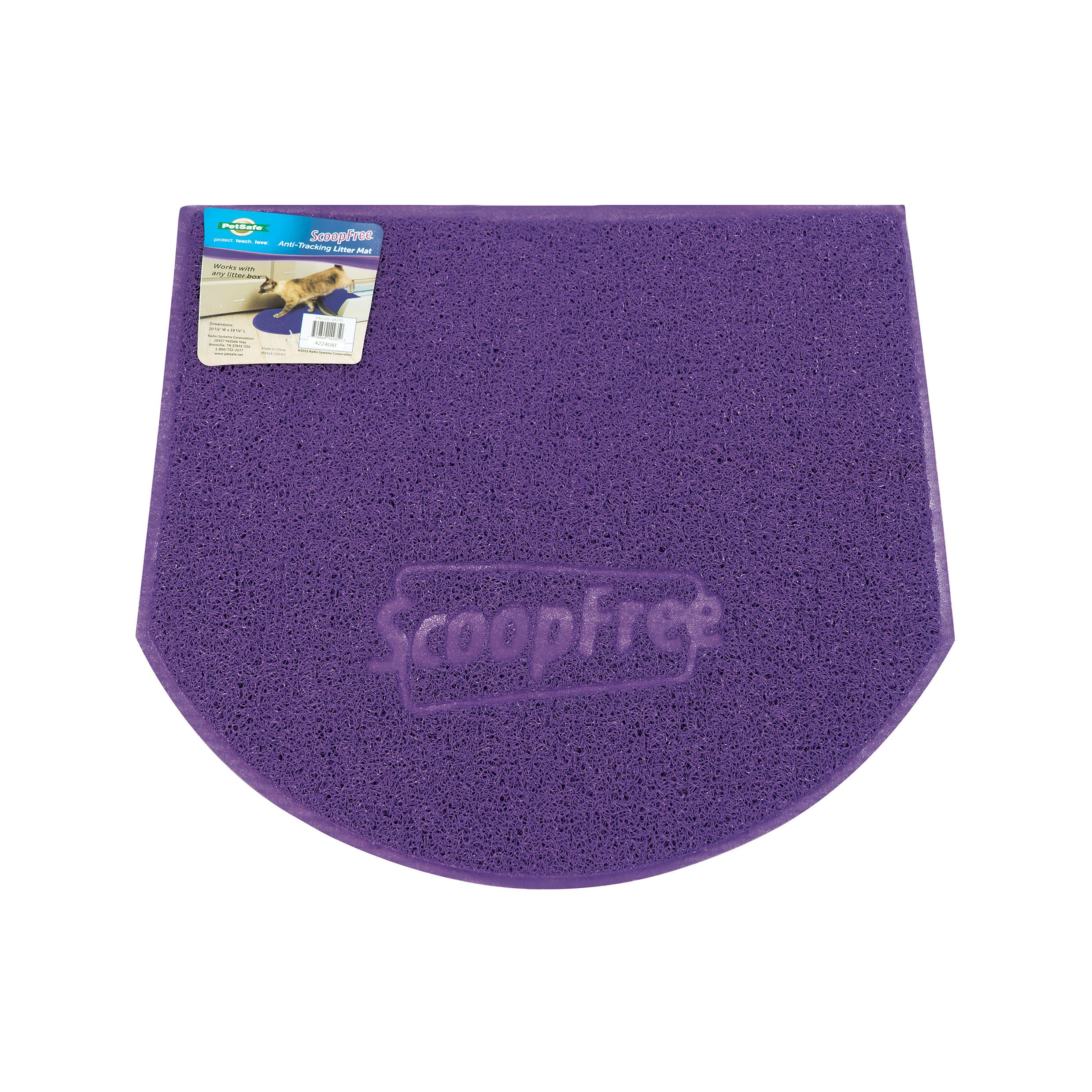 ... self cleaning cat litter box scoop litterbox mat; automatic self- cleaning refill refills tray ...  sc 1 st  Amazon.com & Amazon.com : PetSafe ScoopFree Self-Cleaning Cat Litter Box ... Aboutintivar.Com