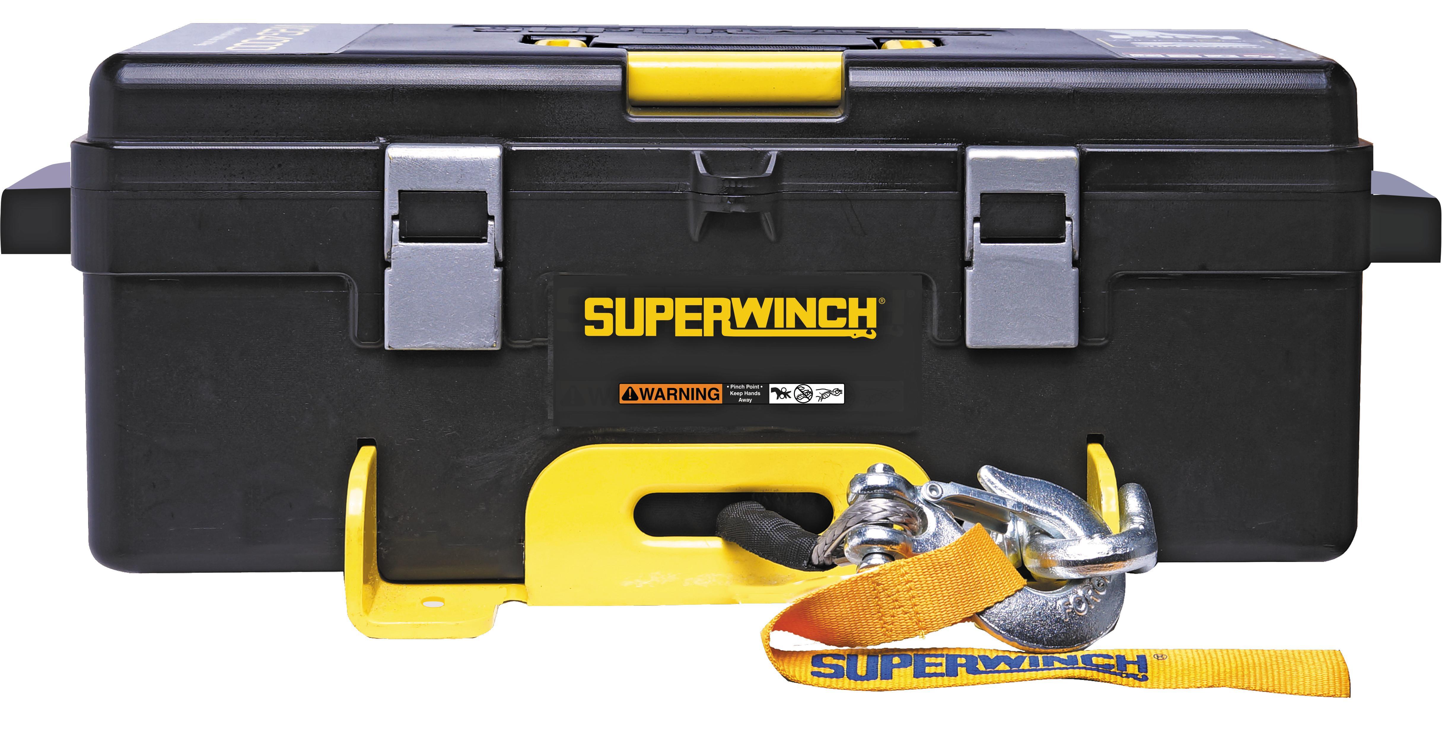 Amazon.com: Superwinch 1140222 Winch 2 Go 12V 4000 Portable Winch ...