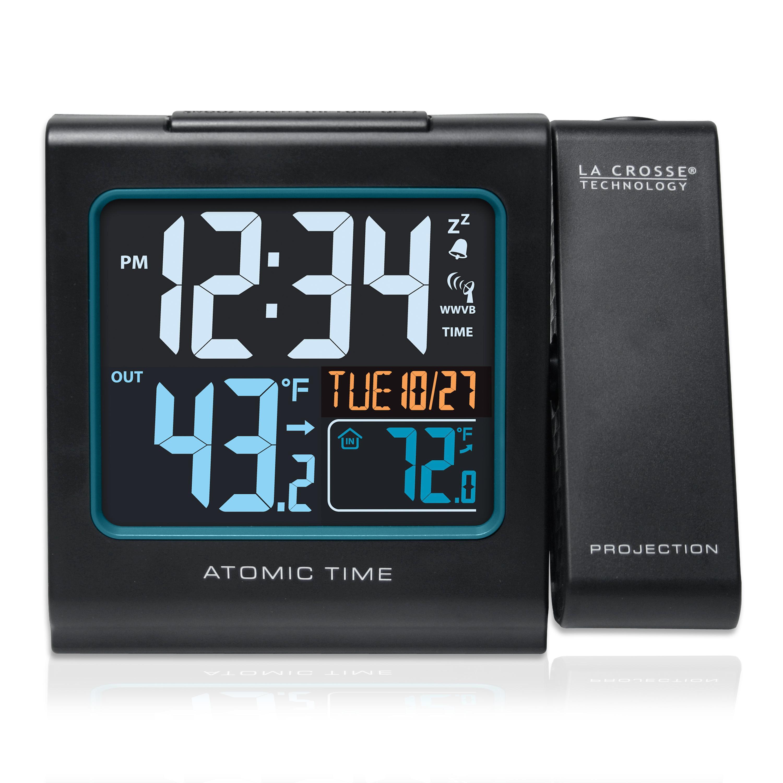 Amazon Com La Crosse Technology 616 146 Color Projection Alarm