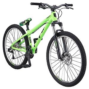 mongoose men s fireball 8 speed 26 wheel green one size