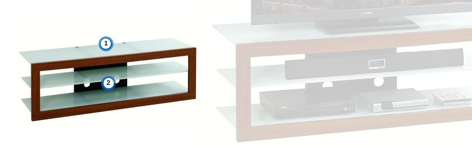 Techni Mobili's TV Stand for TVs up to 65 inches