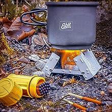 Esbit stove fuel, solid fuel, fuel tablets, emergency fuel, alcohol stove, fire starter, camp fuel