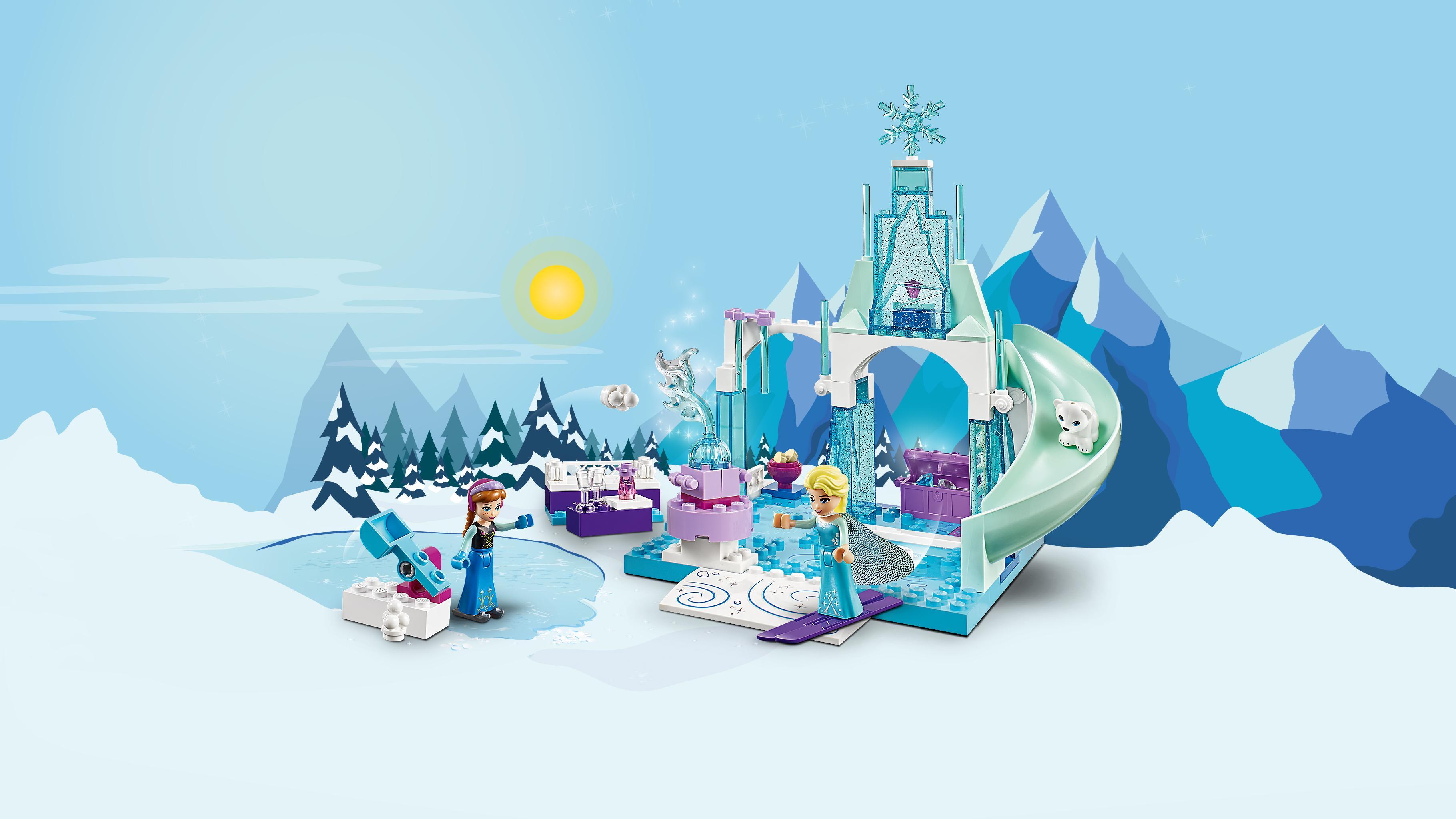 Amazon Com Lego L Disney Frozen Anna Amp Elsa S Frozen