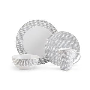 mikasa, dinnerware, plates, settings, dishes
