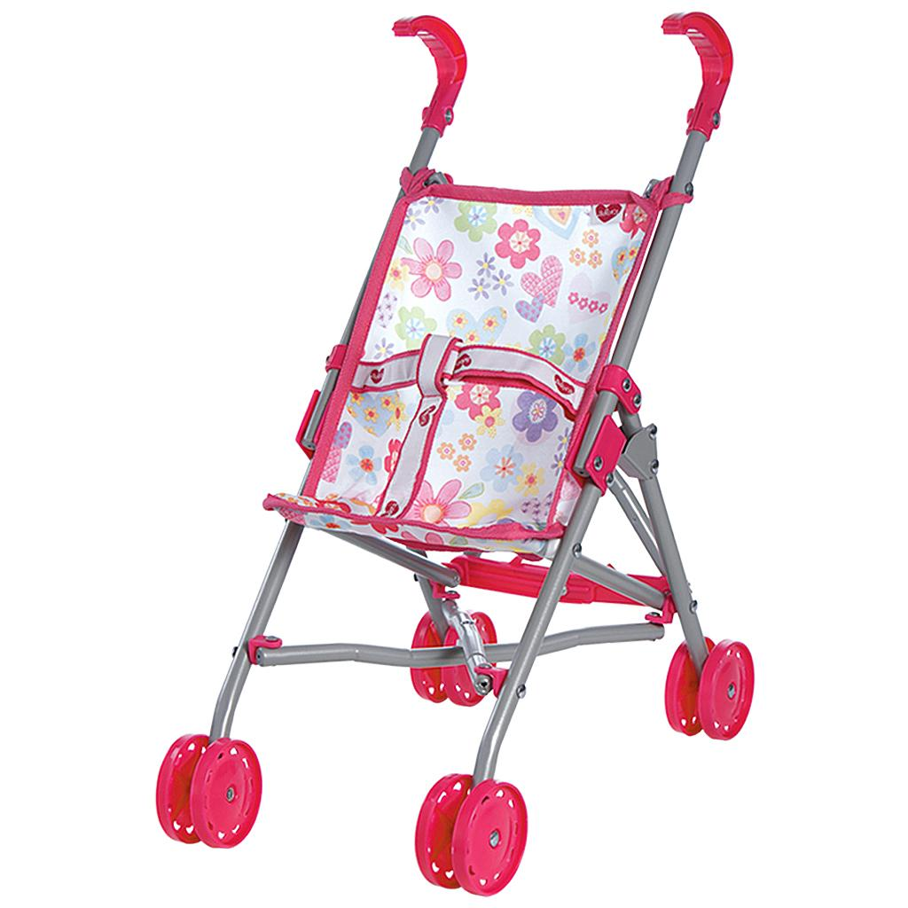 Adora Doll Accessories My First Doll Small Umbrella Toy Play Stroller For  Kids 3 Years U0026 Up