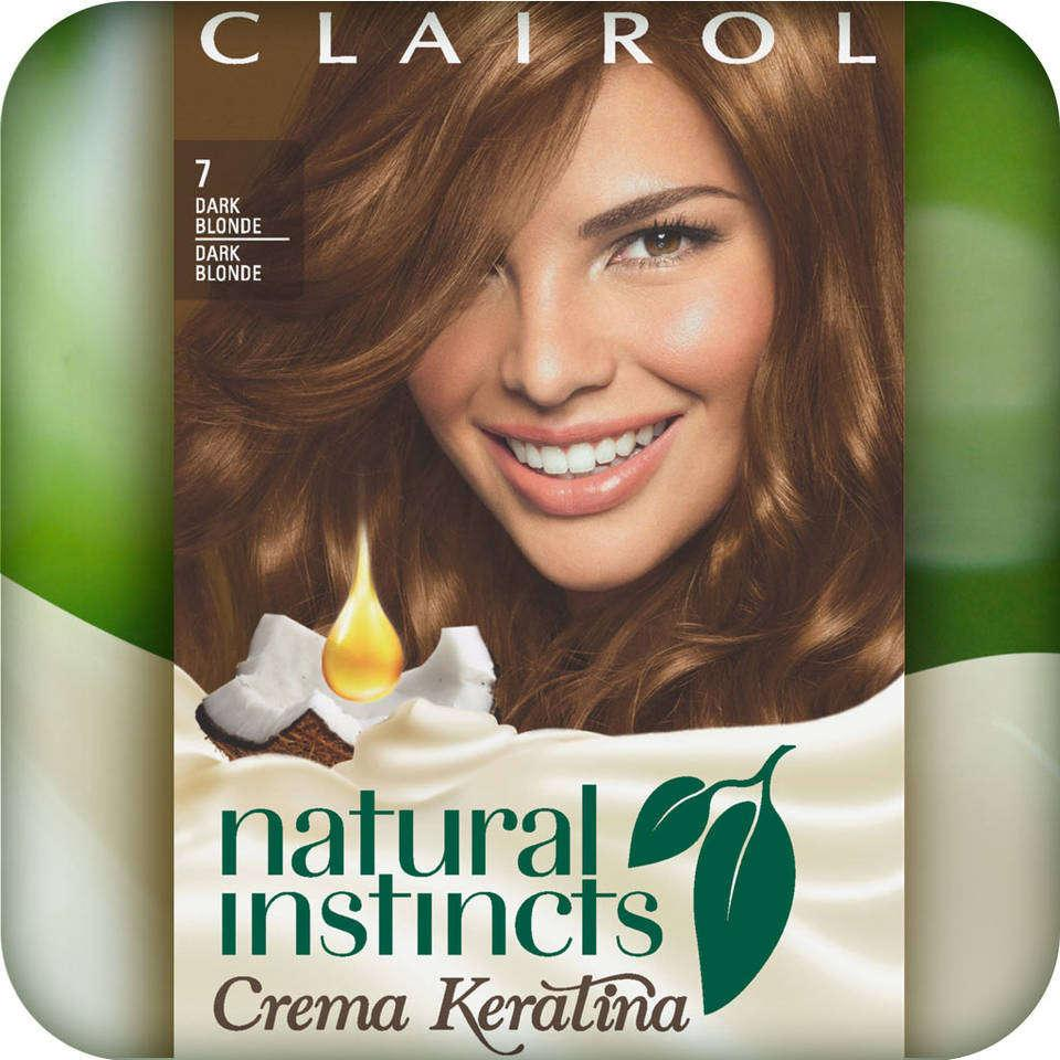 Clairol Natural Instincts Crema Keratina Hair Color